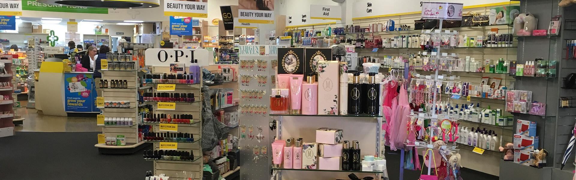 Store Interior 01 At Life Pharmacy Blenheim In Marlborough NZ