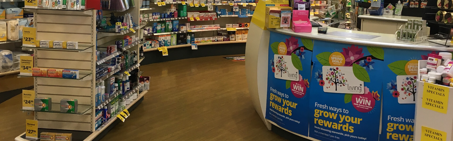 Store Interior 04 At Life Pharmacy Blenheim In Marlborough NZ